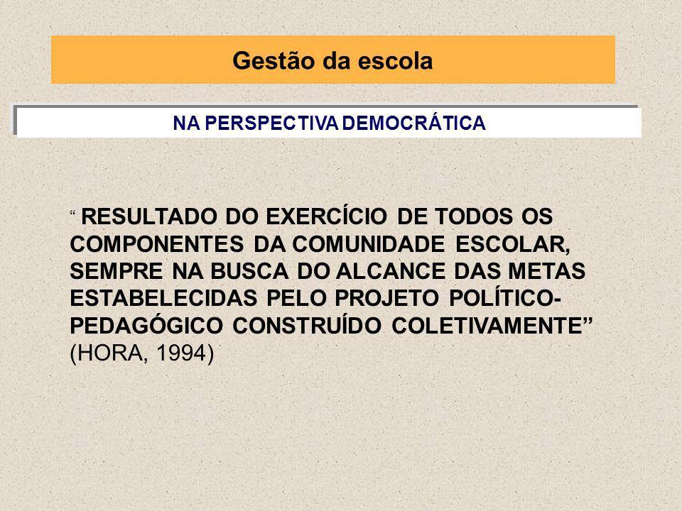 NA PERSPECTIVA DEMOCRÁTICA