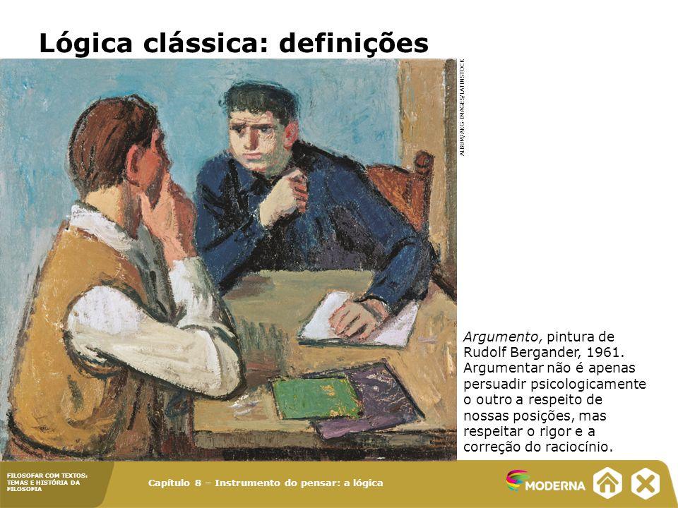 Lógica clássica: definições