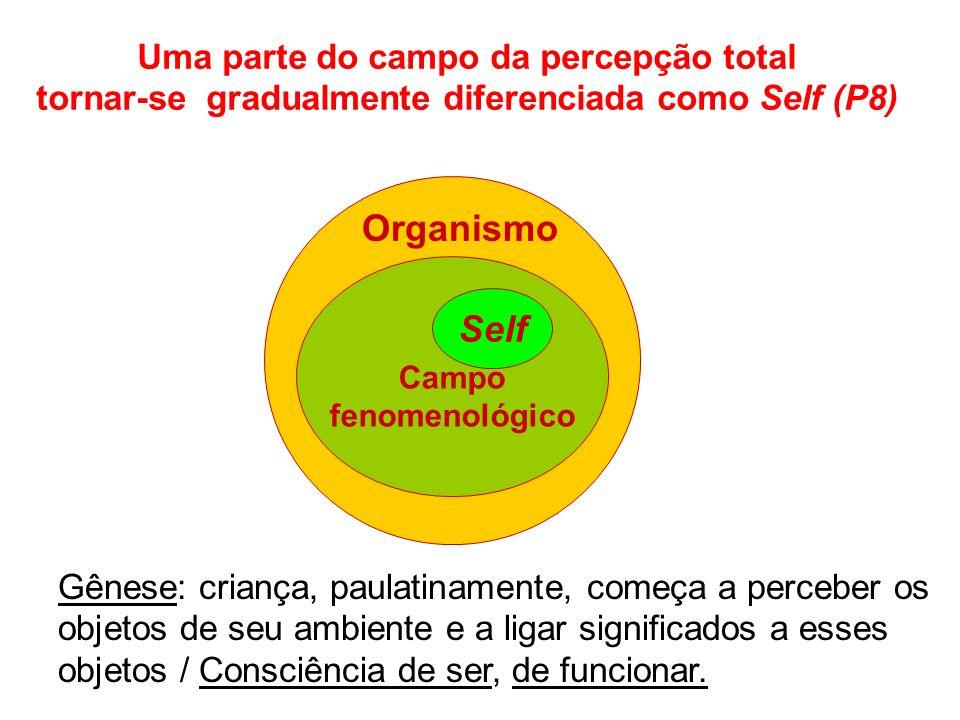 Organismo Self Uma parte do campo da percepção total