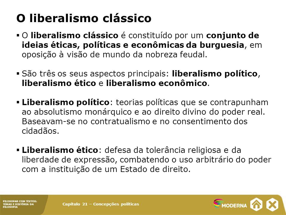 O liberalismo clássico