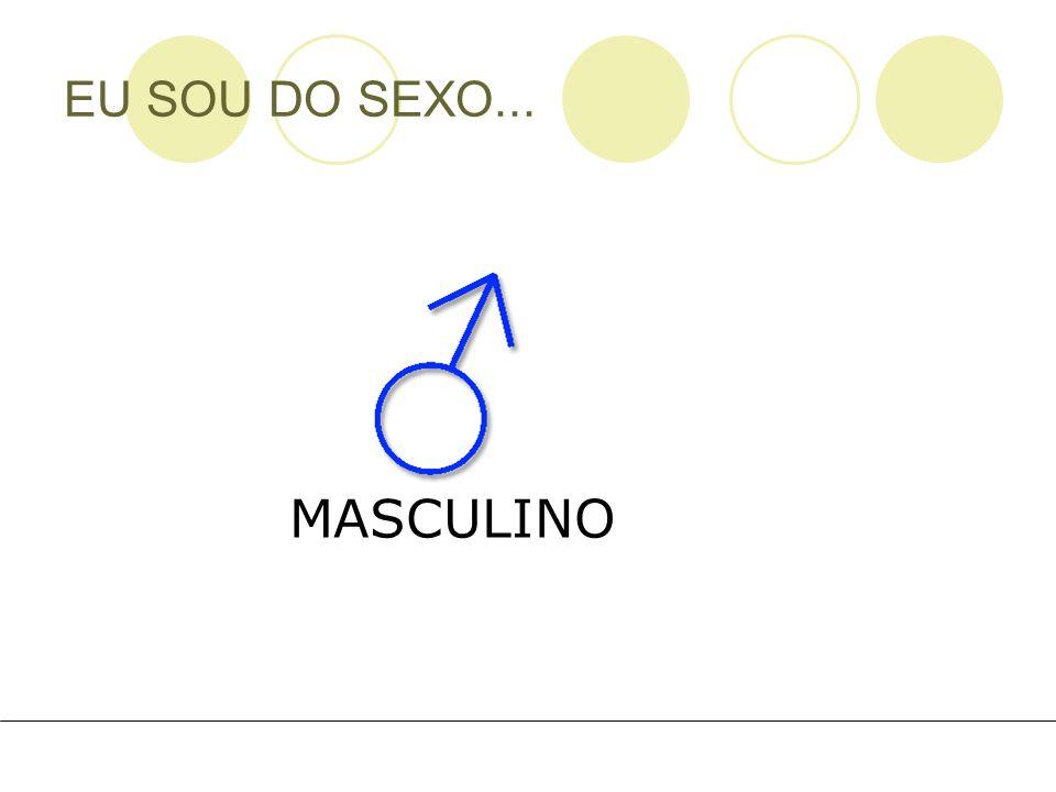 EU SOU DO SEXO... MASCULINO