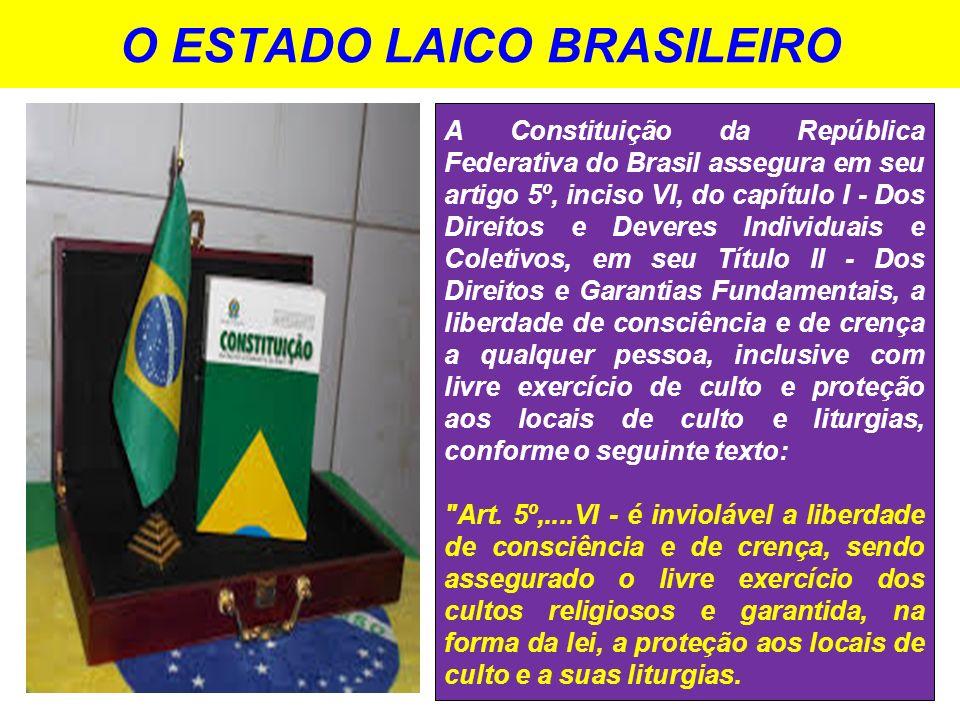 O ESTADO LAICO BRASILEIRO