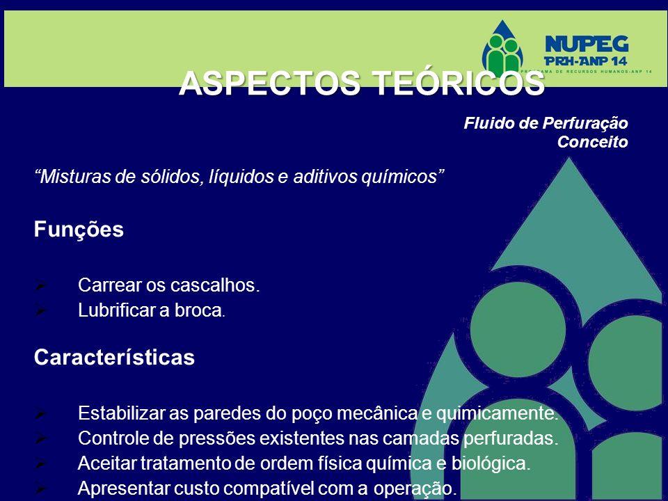 ASPECTOS TEÓRICOS Funções Características