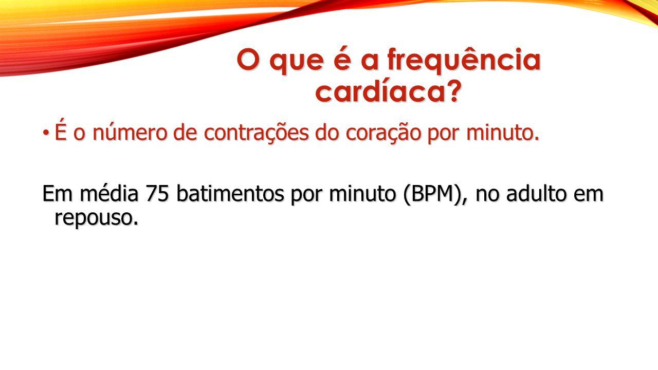 O que é a frequência cardíaca