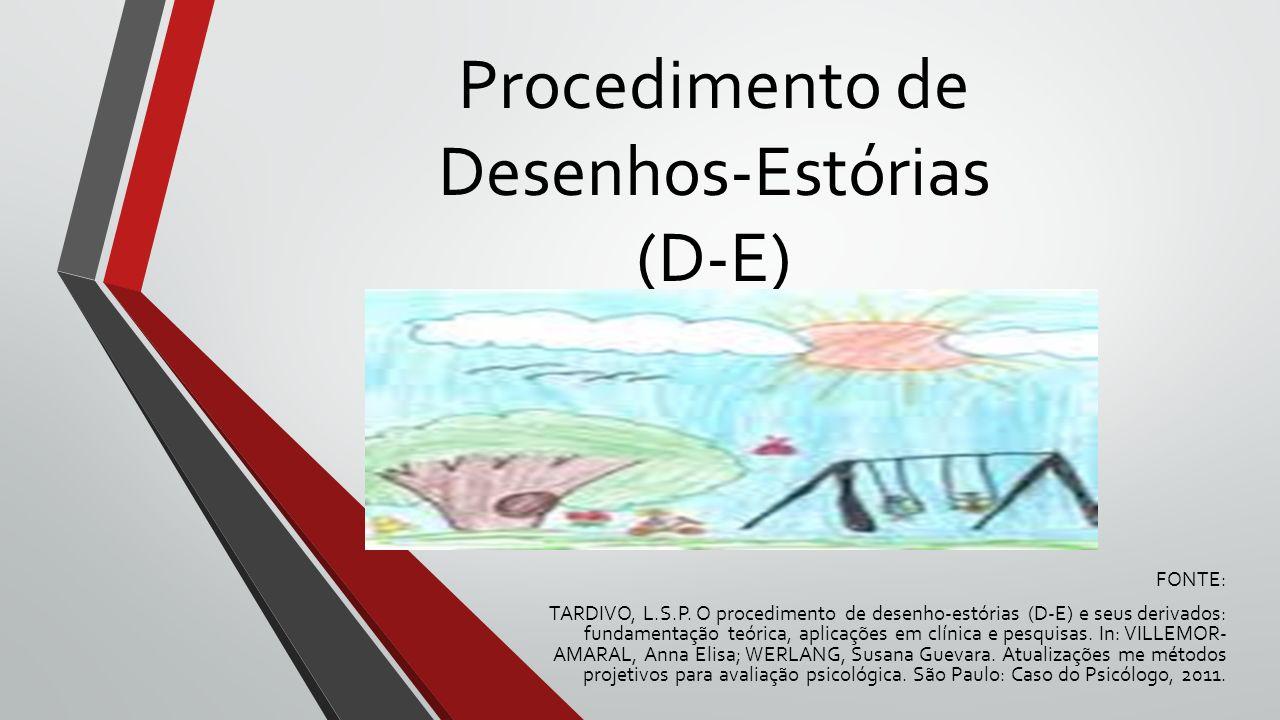 Procedimento de Desenhos-Estórias (D-E)