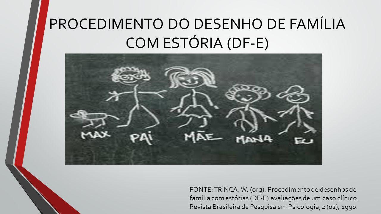 PROCEDIMENTO DO DESENHO DE FAMÍLIA COM ESTÓRIA (DF-E)