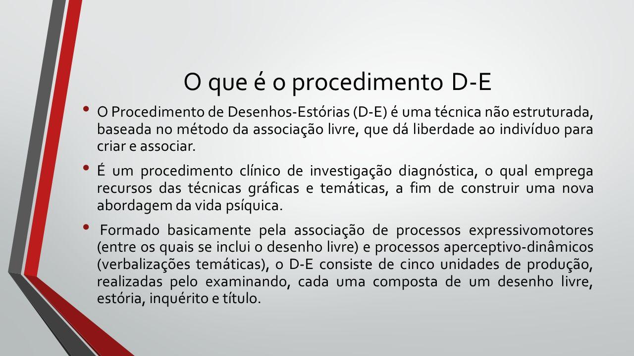 O que é o procedimento D-E
