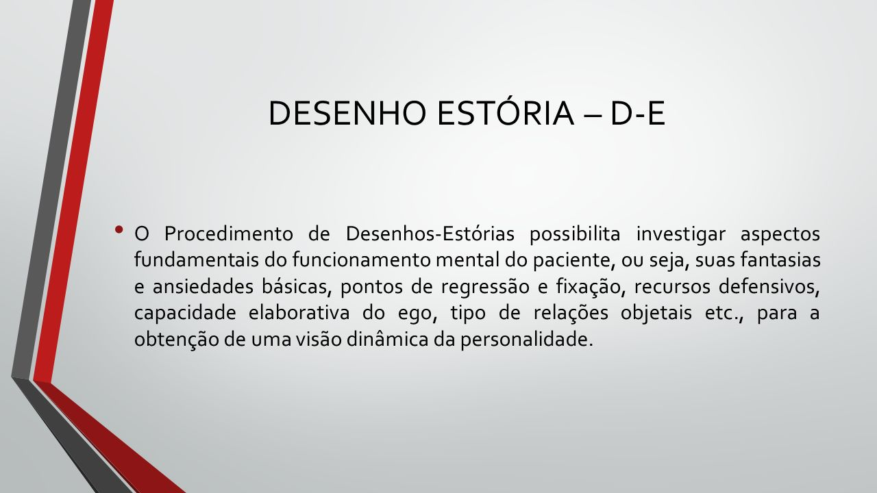 DESENHO ESTÓRIA – D-E