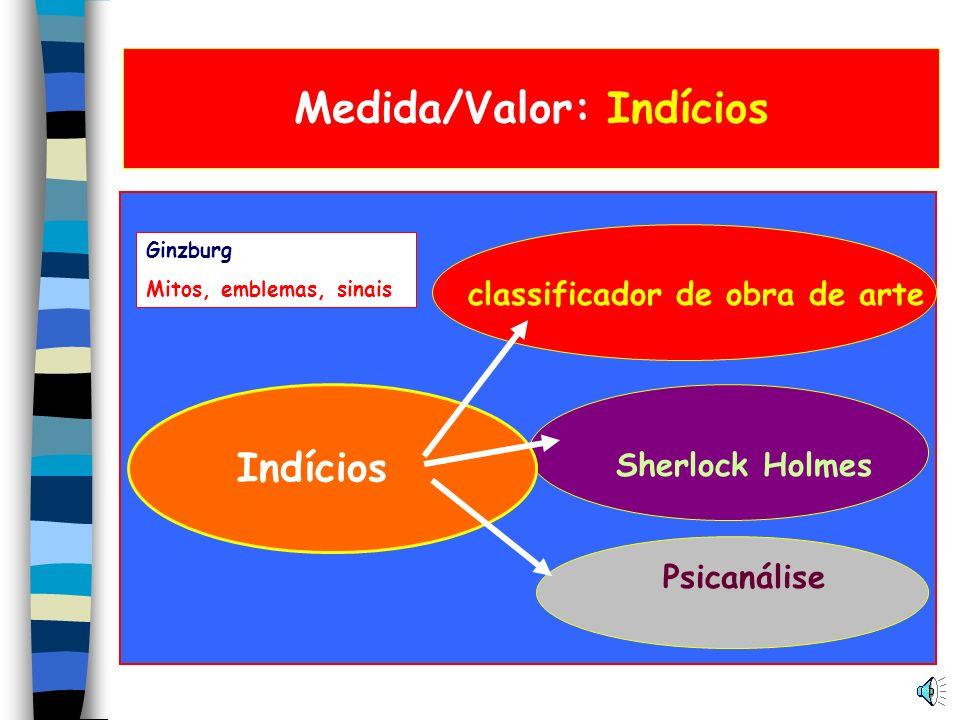 Medida/Valor: Indícios