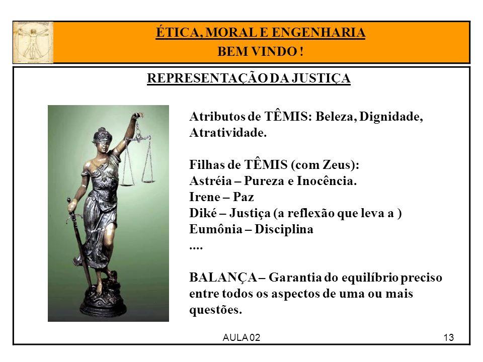 ÉTICA, MORAL E ENGENHARIA REPRESENTAÇÃO DA JUSTIÇA