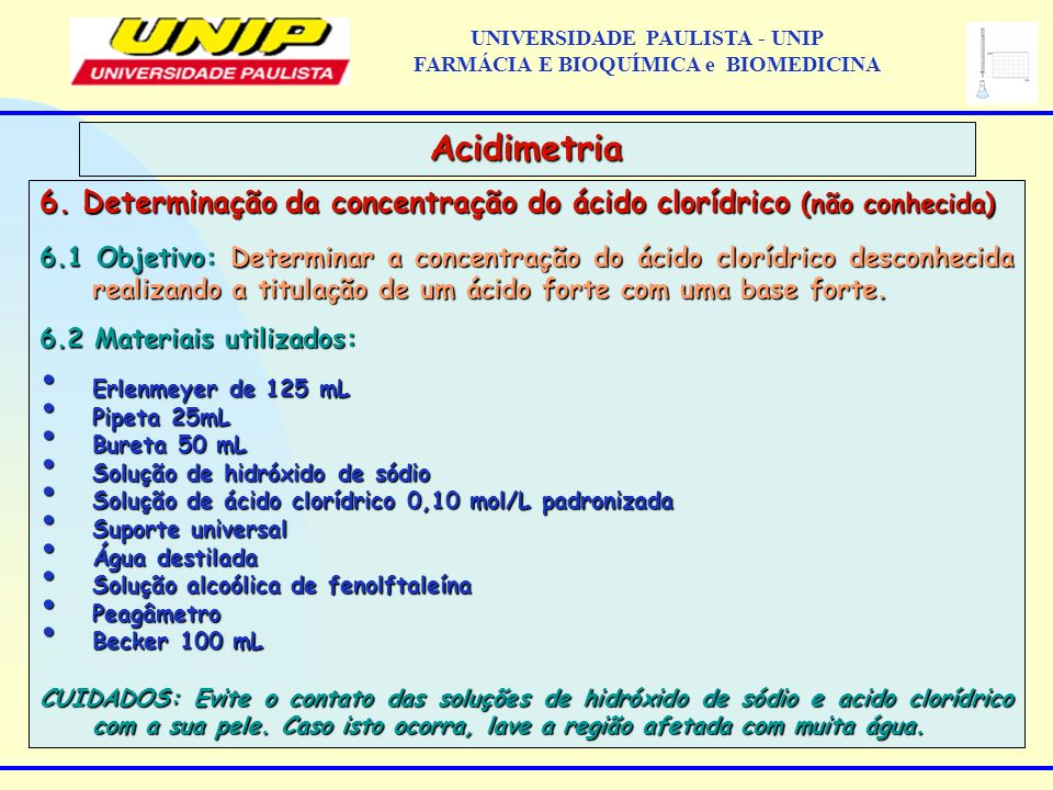 UNIVERSIDADE PAULISTA - UNIP FARMÁCIA E BIOQUÍMICA e BIOMEDICINA
