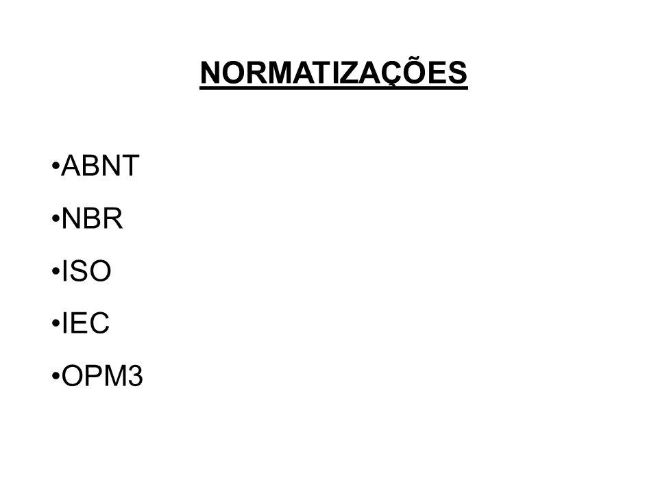 NORMATIZAÇÕES ABNT NBR ISO IEC OPM3
