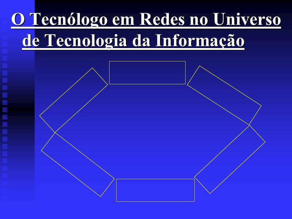 O Tecnólogo em Redes no Universo de Tecnologia da Informação