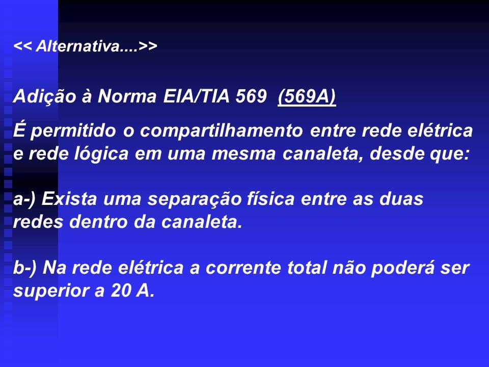 Adição à Norma EIA/TIA 569 (569A)