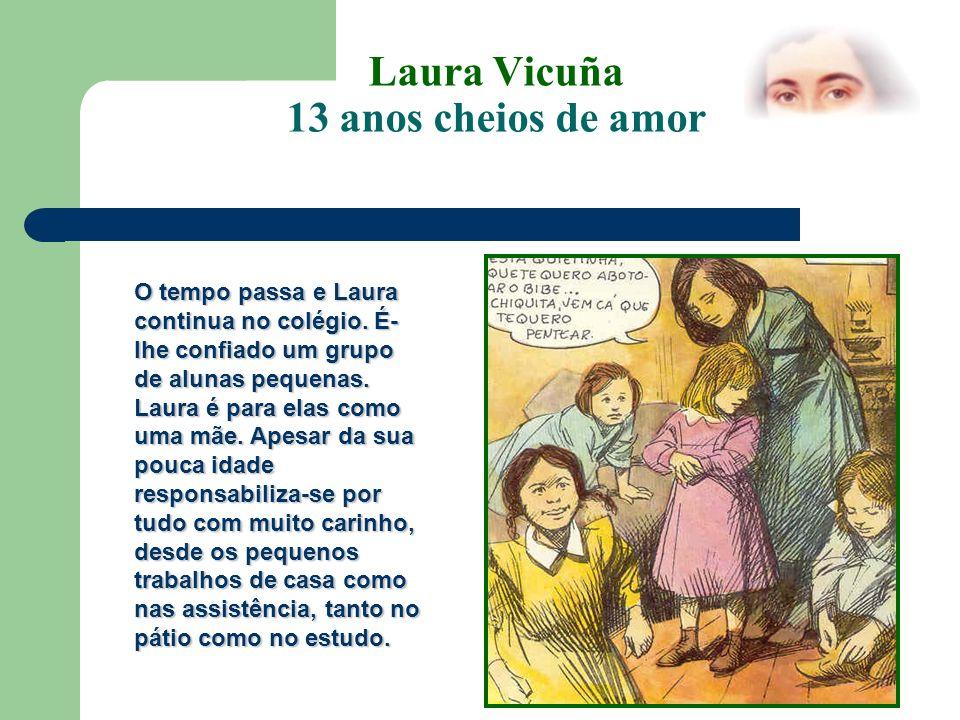 Laura Vicuña 13 anos cheios de amor