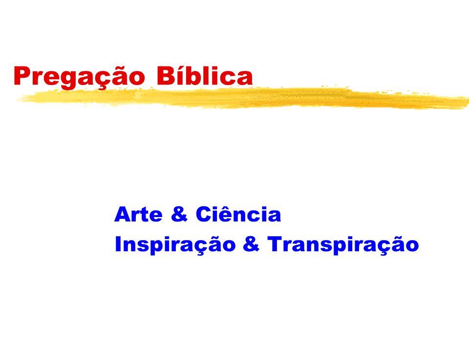 Arte & Ciência Inspiração & Transpiração