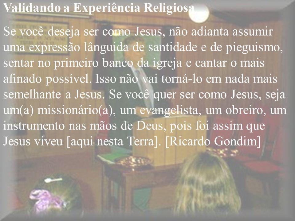 Validando a Experiência Religiosa