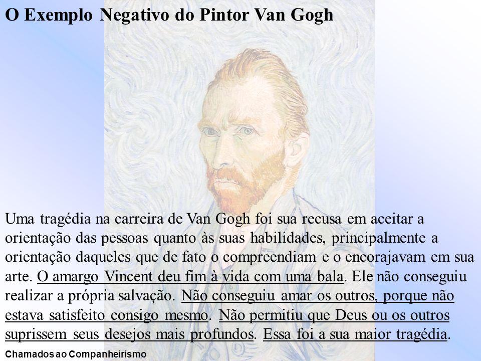 O Exemplo Negativo do Pintor Van Gogh
