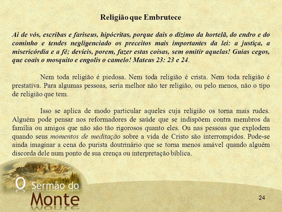 Religião que Embrutece