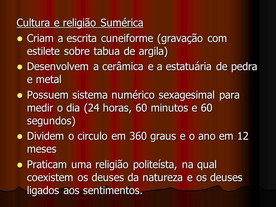 Cultura e religião Sumérica