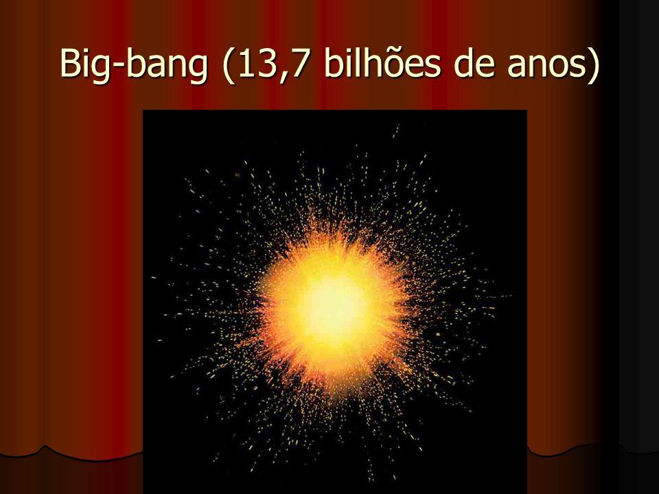 Big-bang (13,7 bilhões de anos)