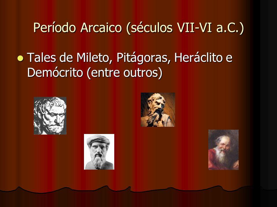 Período Arcaico (séculos VII-VI a.C.)