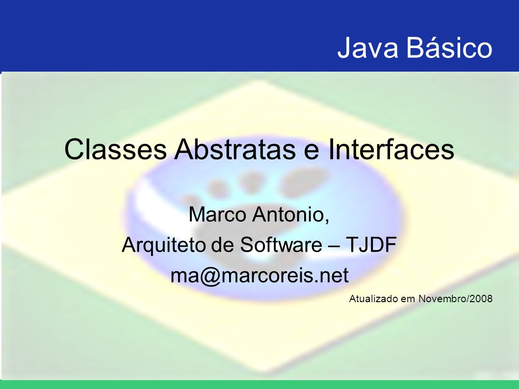 Classes Abstratas e Interfaces