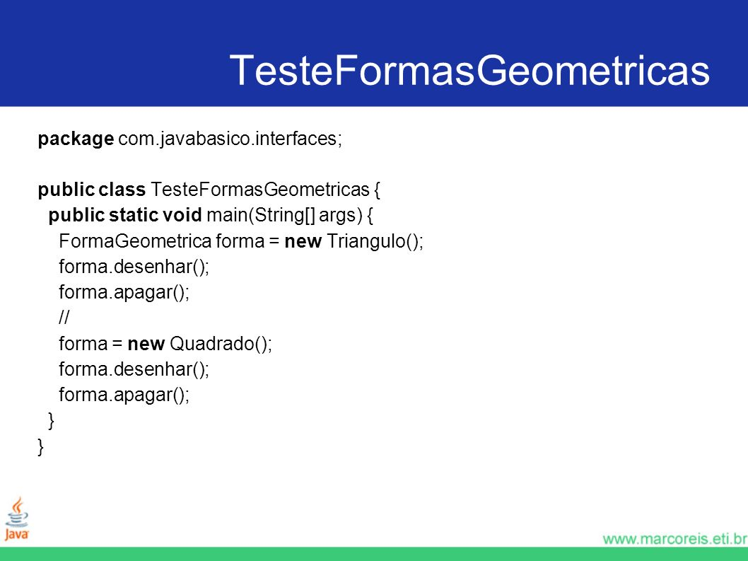 TesteFormasGeometricas