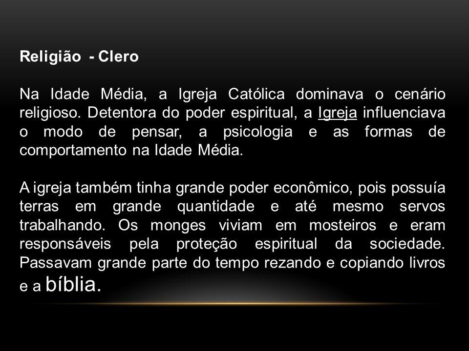 Religião - Clero