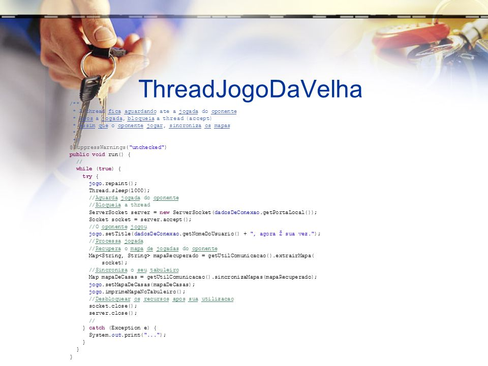ThreadJogoDaVelha /**