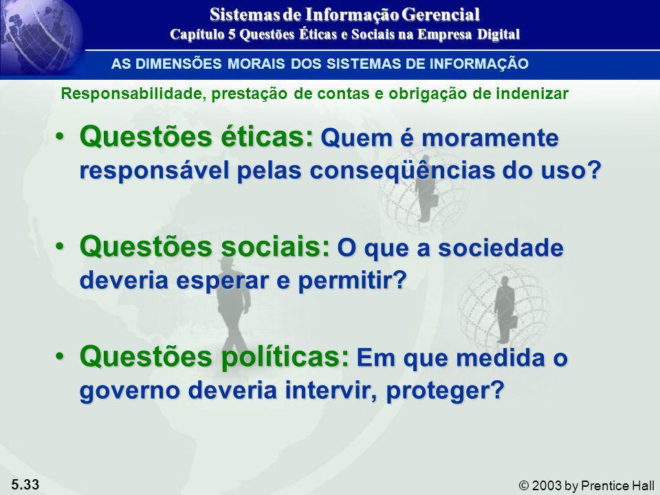 Questões sociais: O que a sociedade deveria esperar e permitir