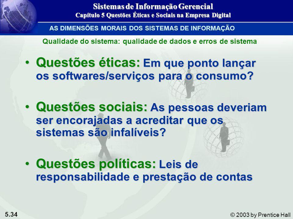 Questões políticas: Leis de responsabilidade e prestação de contas