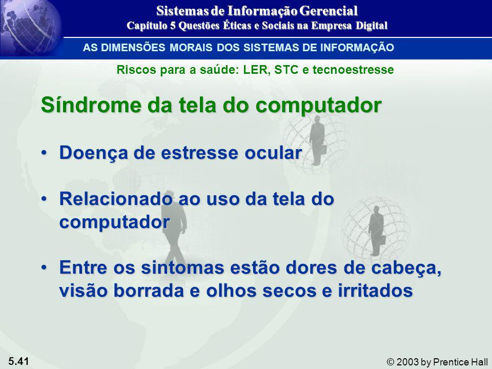 Síndrome da tela do computador