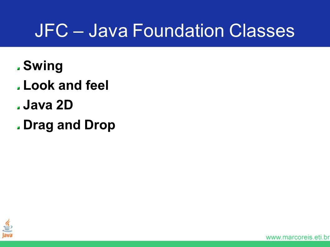 JFC – Java Foundation Classes