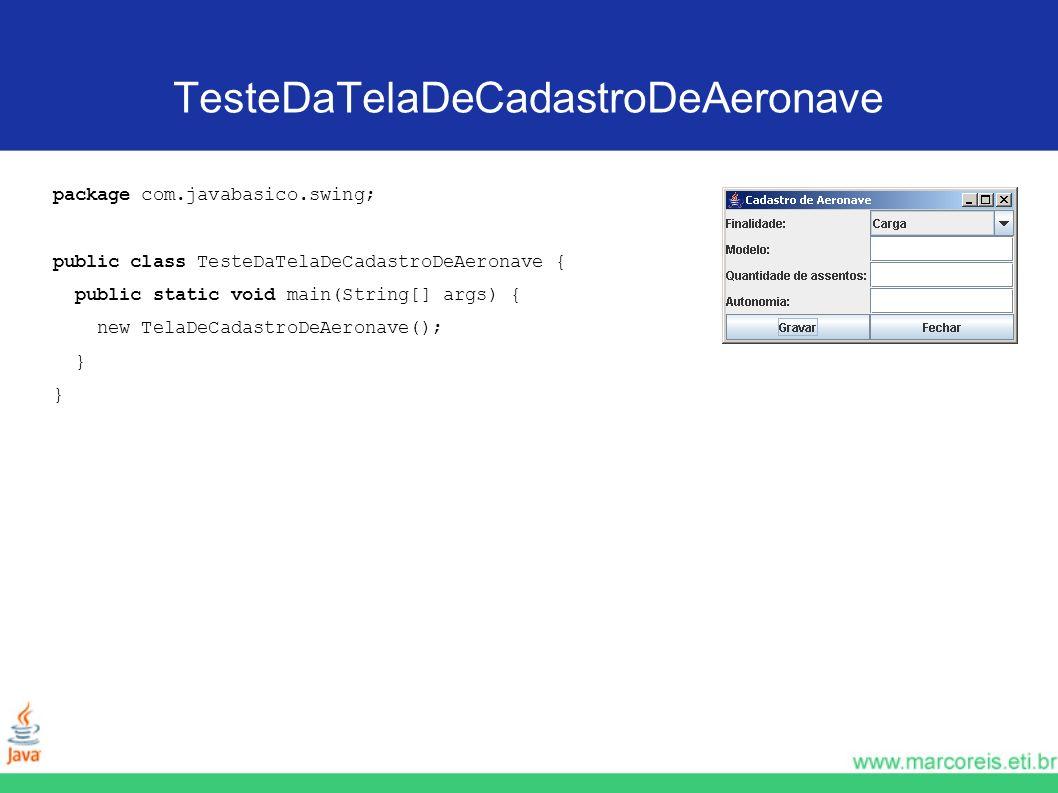 TesteDaTelaDeCadastroDeAeronave