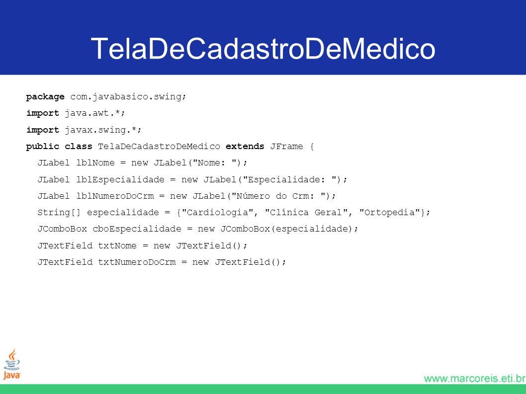 TelaDeCadastroDeMedico