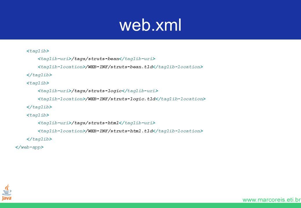 web.xml <taglib>