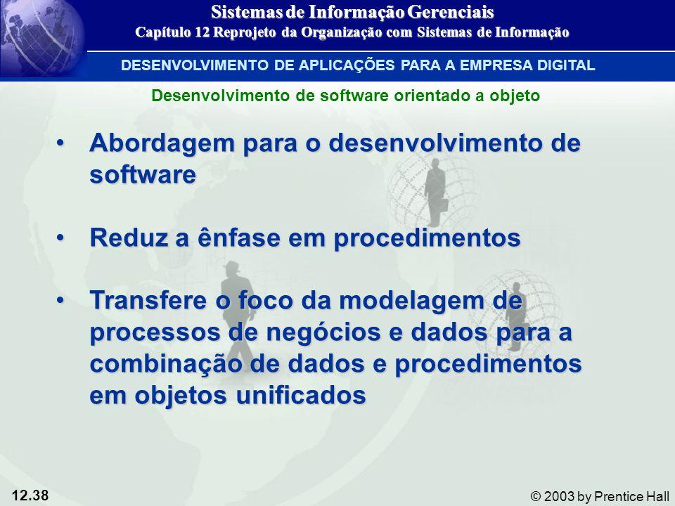 Abordagem para o desenvolvimento de software
