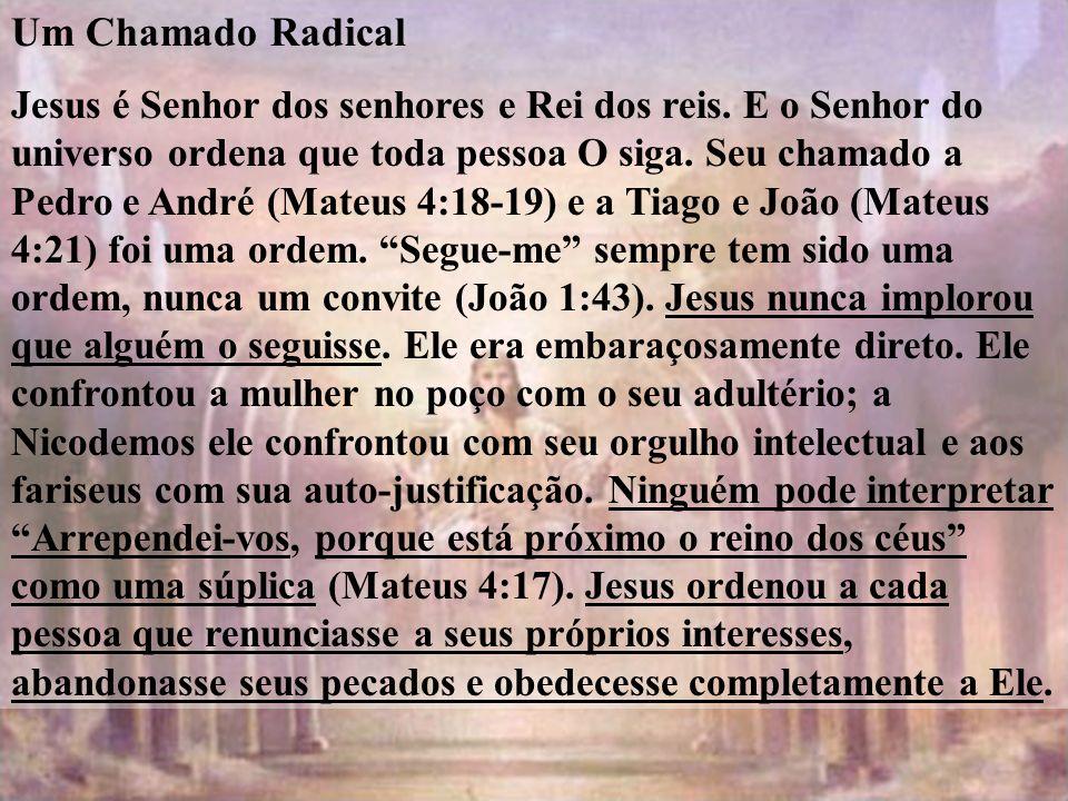 Um Chamado Radical