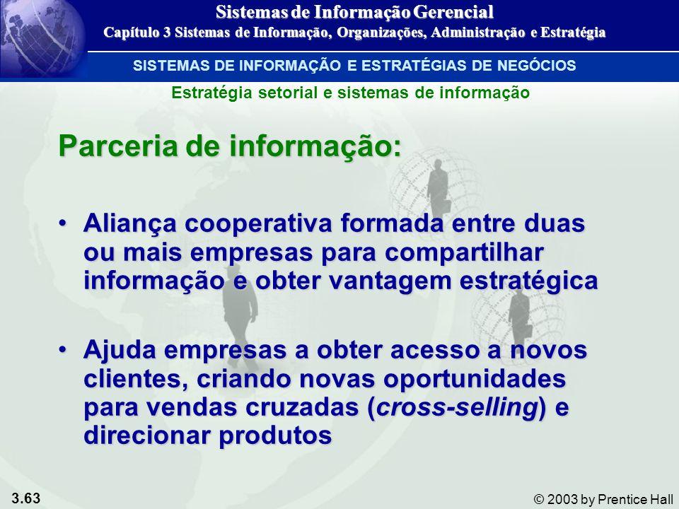 Parceria de informação: