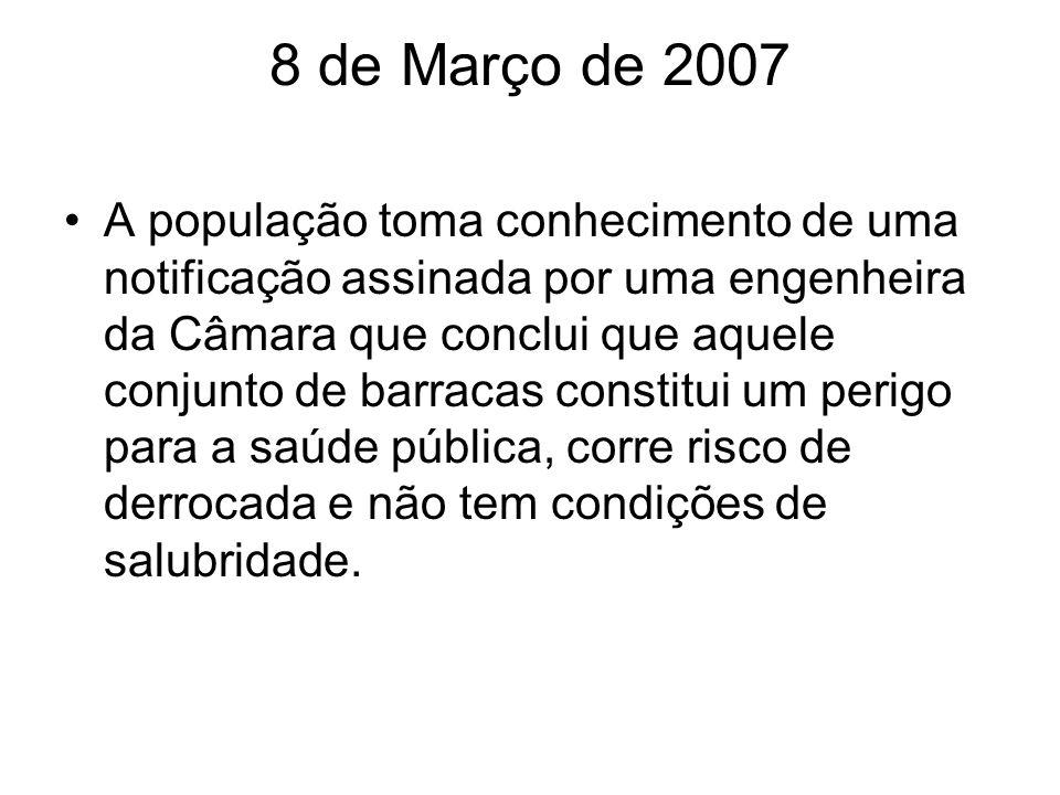 8 de Março de 2007