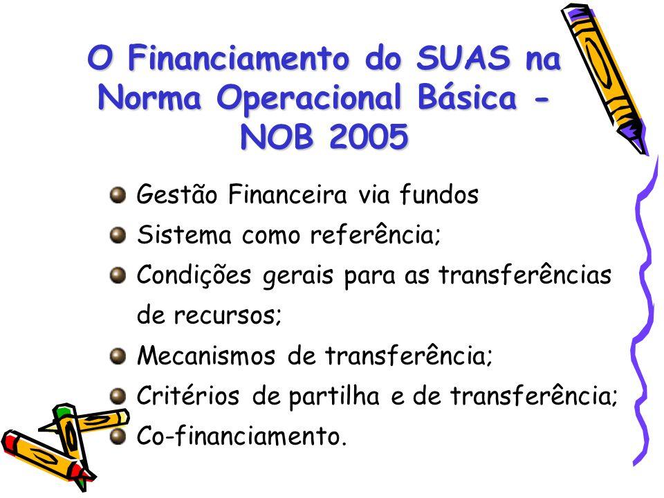 O Financiamento do SUAS na Norma Operacional Básica - NOB 2005