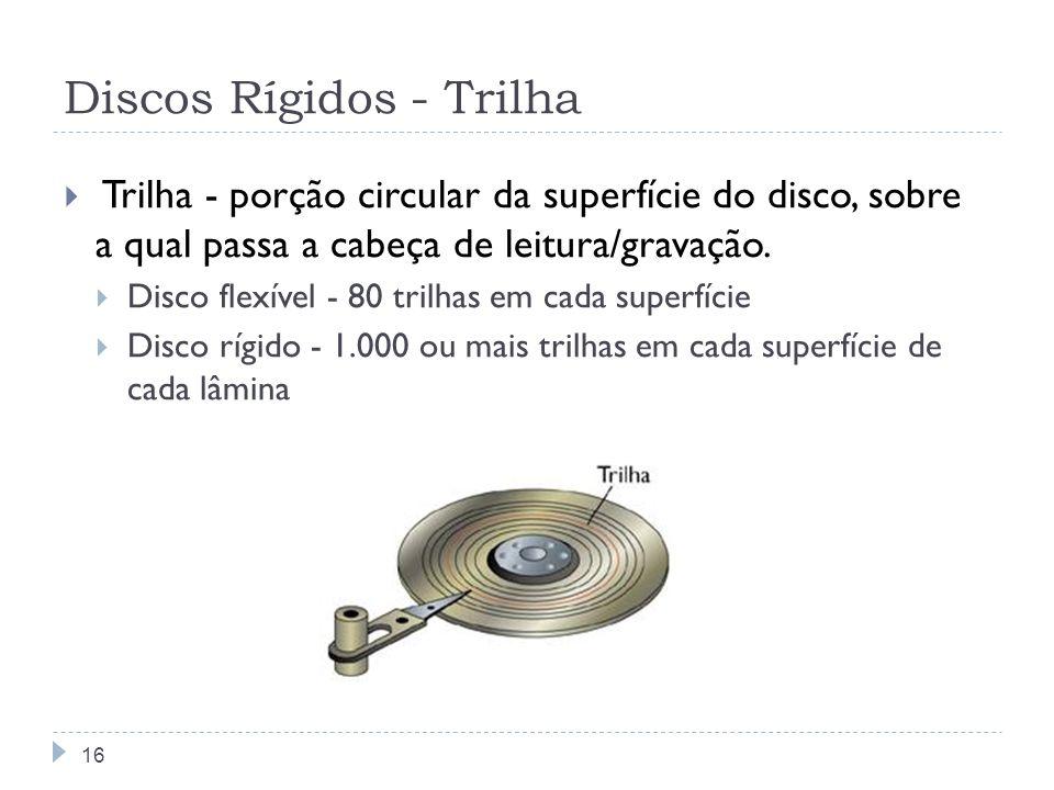 Discos Rígidos - Trilha