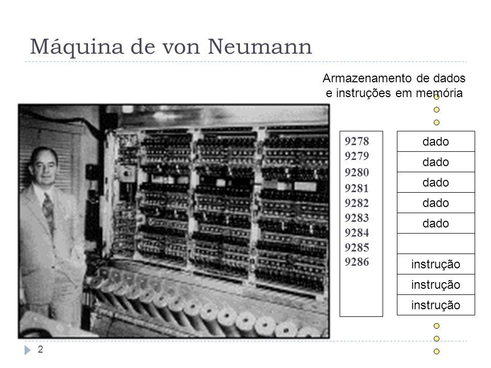 Armazenamento de dados e instruções em memória