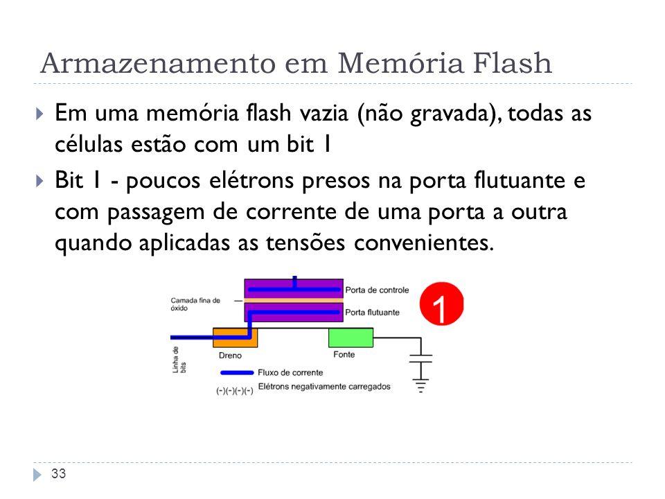 Armazenamento em Memória Flash