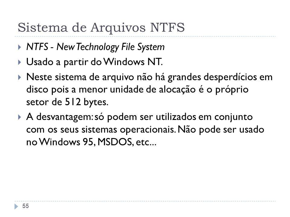 Sistema de Arquivos NTFS
