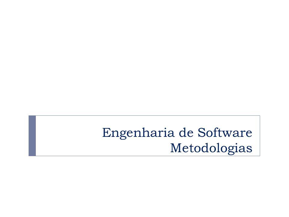 Engenharia de Software Metodologias