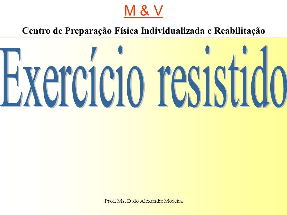 M & V Exercício resistido