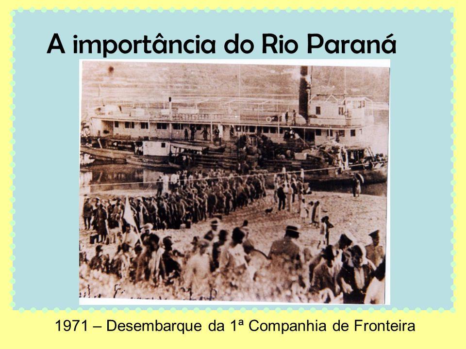 A importância do Rio Paraná
