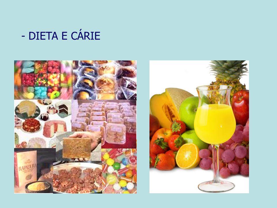 - DIETA E CÁRIE